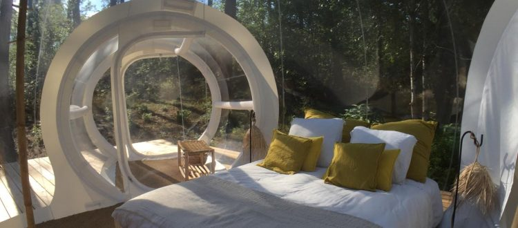 chambre spacieuse nature