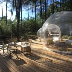 bulle totalement transparente et chauffée