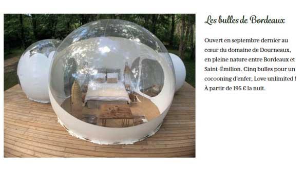 Luxe infinit selected les bulles de bordeaux